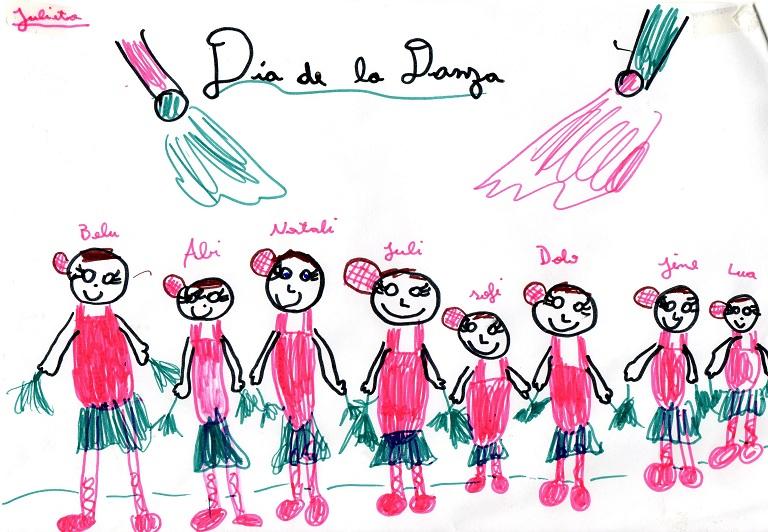 Dibujo: Día de la danza 1