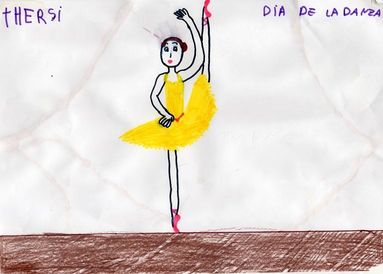 Dibujo: Día de la danza 3